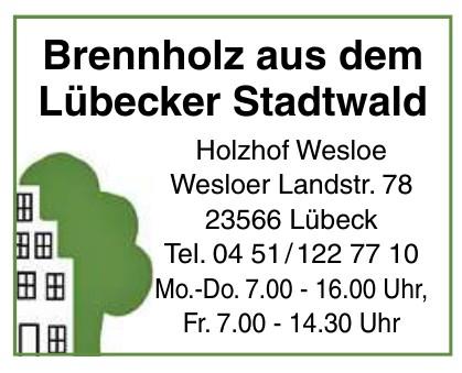 Holzhof Wesloe