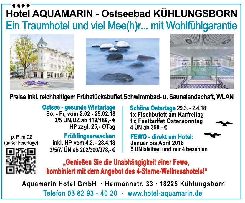 Aquamarin Hotel GmbH