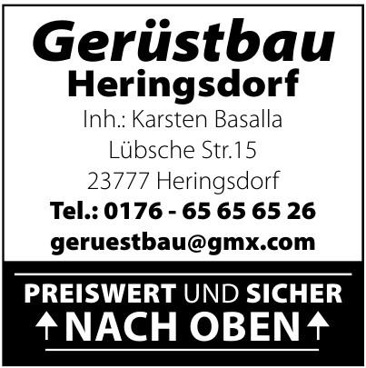 Gerüstbau Heringsdorf