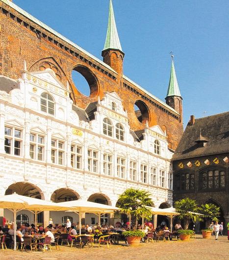 Ratskeller zu Lübeck: Feiern mit Stil.FOTO: HOLGER LOOFT