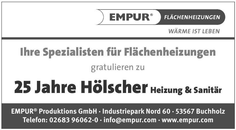 EMPUR® Produktions GmbH