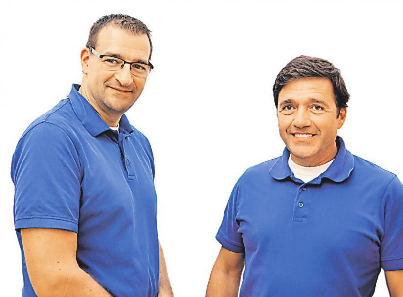 Dr. Marc Stracke und Dr. Ralf Schiller (v.li.). FOTO: HFR