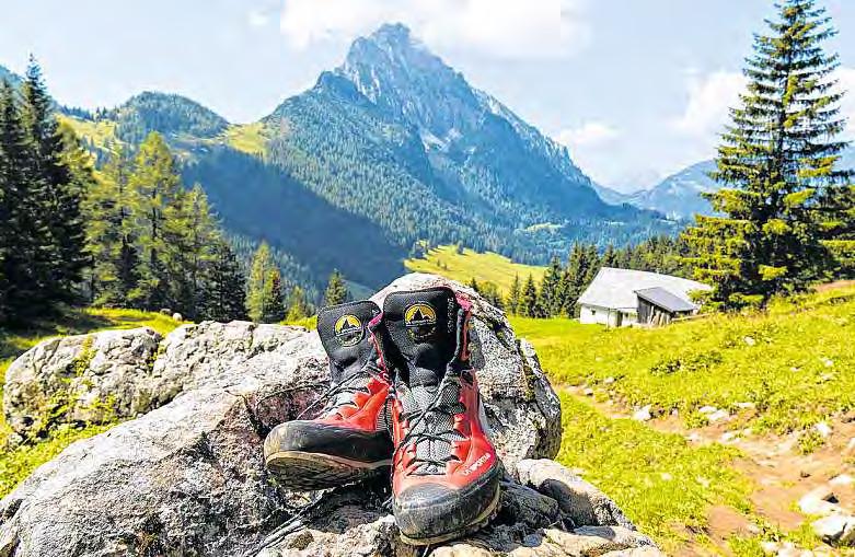 Zur Ruhe kommen, sich selbst erleben, die Natur genießen – die Einsamkeit der Bergwelt bietet ideale Voraussetzungen zum Ausspannen. FOTO: GINA SANDERS, FOTOLIA