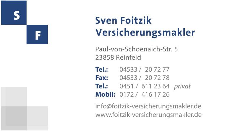 Sven Foitzik Versicherungsmakler
