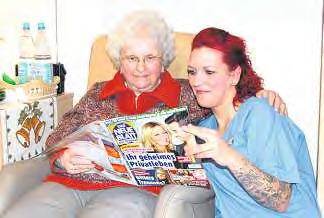Nadine Schulze nutzt ihre Chance und macht eine Ausbildung in der Altenpflege. Sie ist sicher, dass es die richtige Entscheidung war.