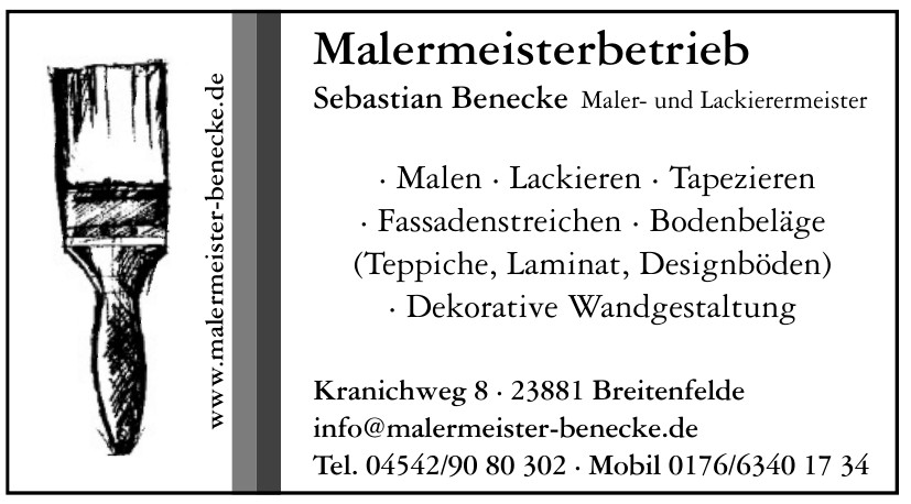 Malermeisterbetrieb Sebastian Benecke