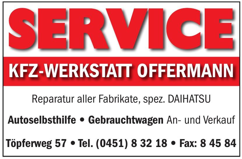 Kfz-Werkstatt Offermann
