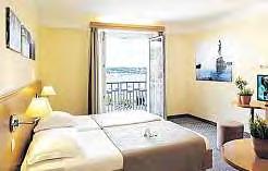 Die Zimmer des Life Class Hotels bieten viel Komfort.