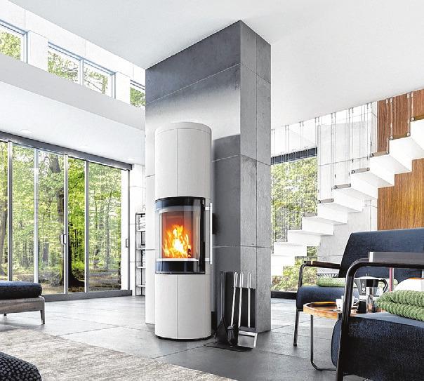 Kaminöfen wärmen und gestalten auch das eigene Heim. FOTO: DROOFF