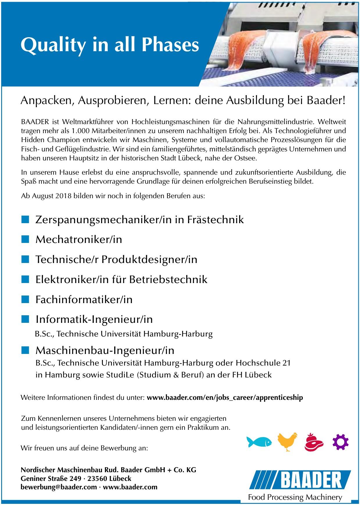 Nordischer Maschinenbau Rud. Baader GmbH + Co. KG