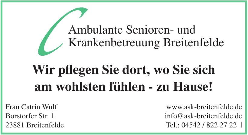 Ambulante Senioren- und Krankenbetreuung Breitenfelde