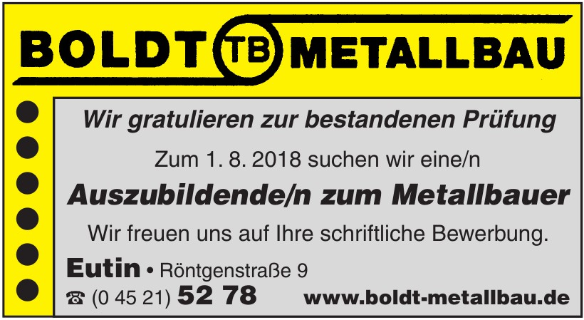 Boldt Metallbau