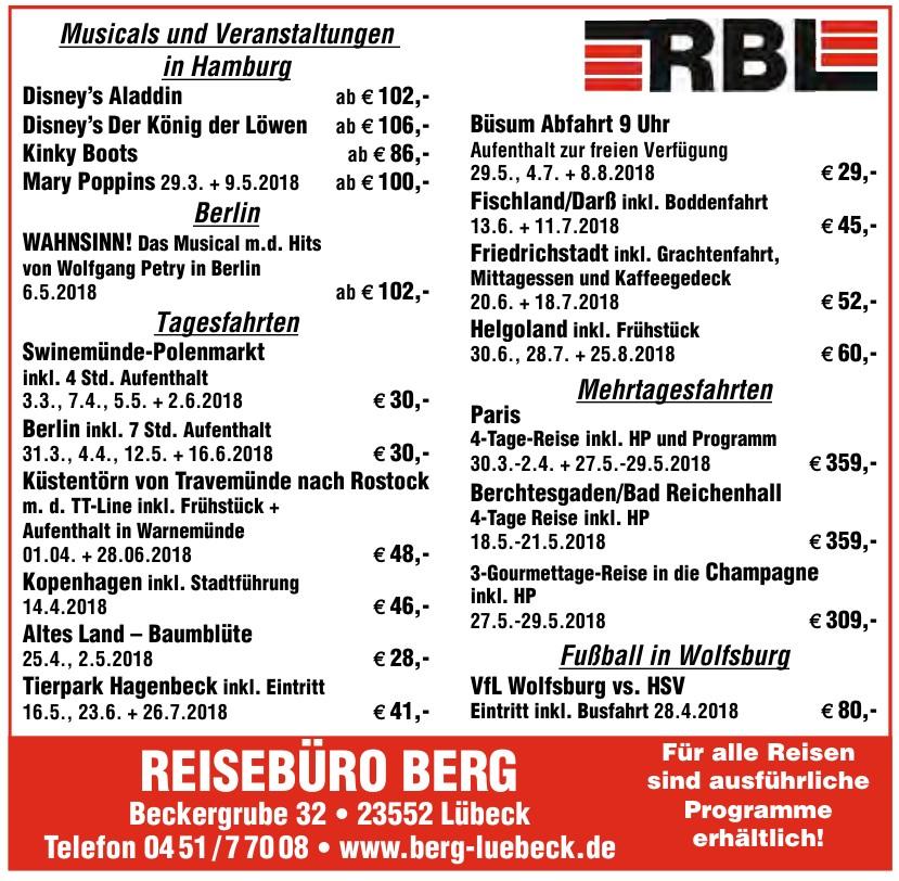 Reisebüro Berg