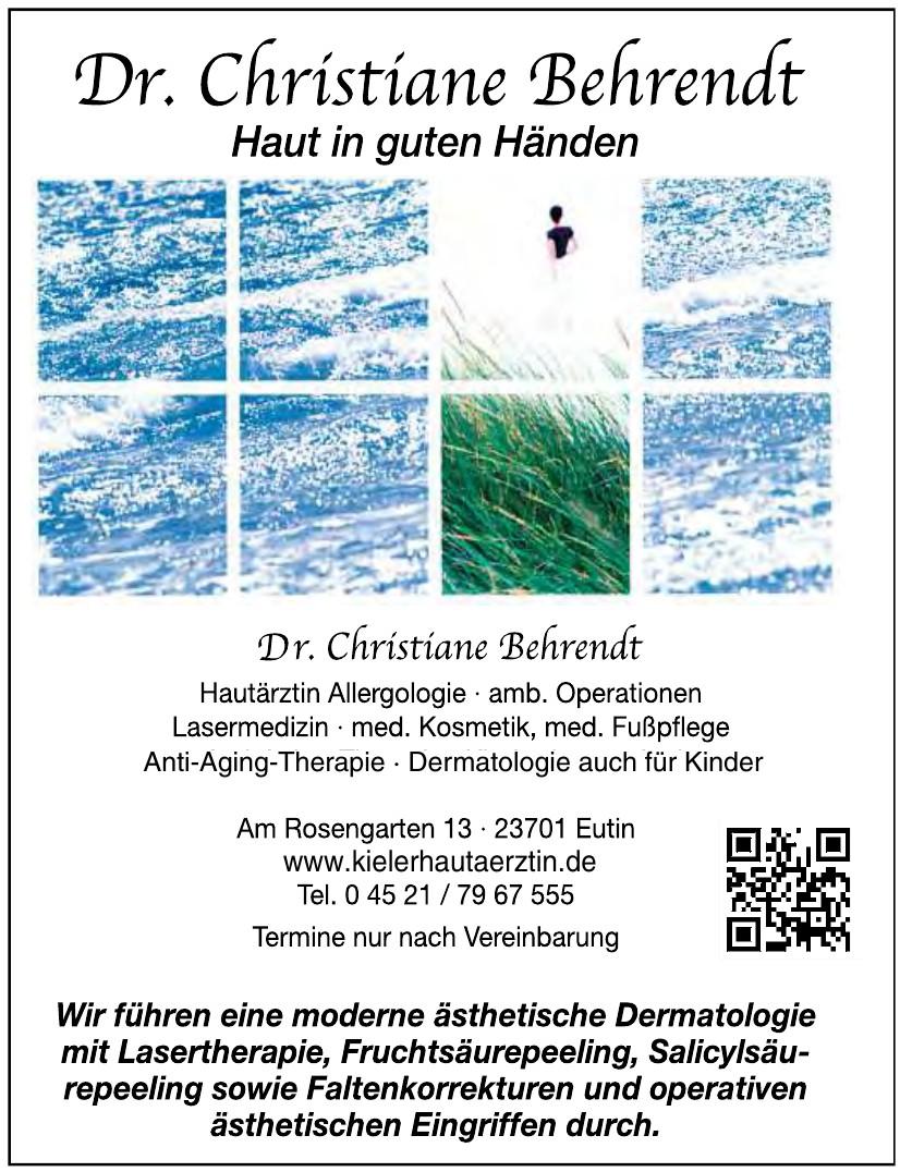 Dr. med. Christiane Behrendt
