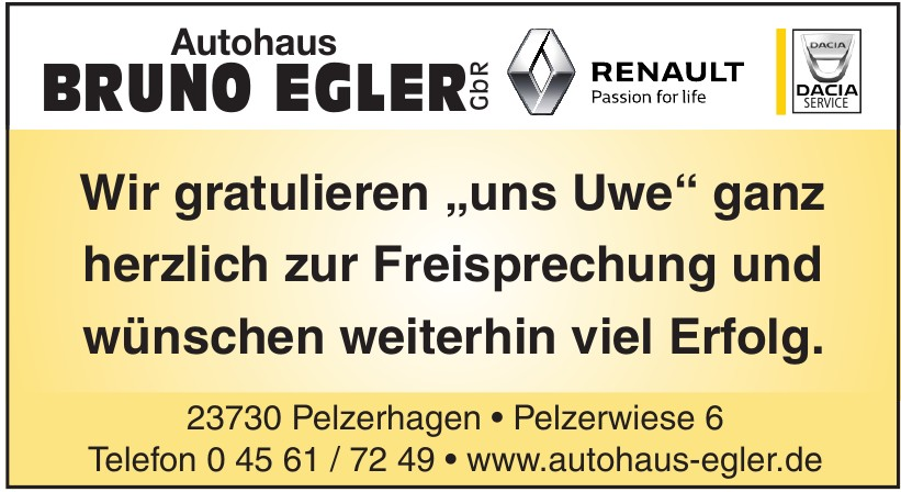 Autohaus Bruno Egler GbR