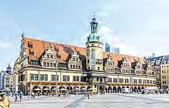 Der Leipziger Marktplatz – Treffpunkt für Jung und Alt.