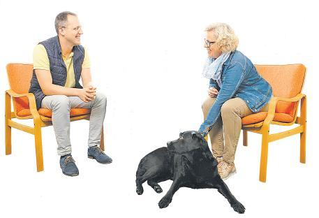 In der Curtius Klinik setzt man auf tiergestützte Therapien. FOTO: MOLTER FOTOGR.