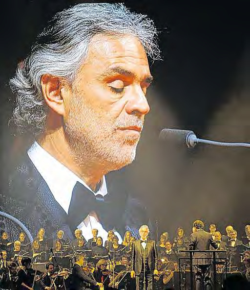 Andrea Bocelli, der Weltstar voller Emotionen, kommt nach Berlin.FOTO: LEUTGEB_ENTERTAINMENT_GROUP