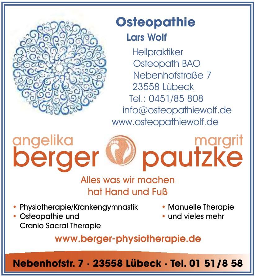 Praxis für Physiotherapie Angelika Berger und Margrit Pautzke