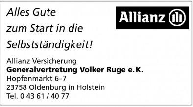 Allianz Versicherung Generalvertretung Volker Ruge e.K.
