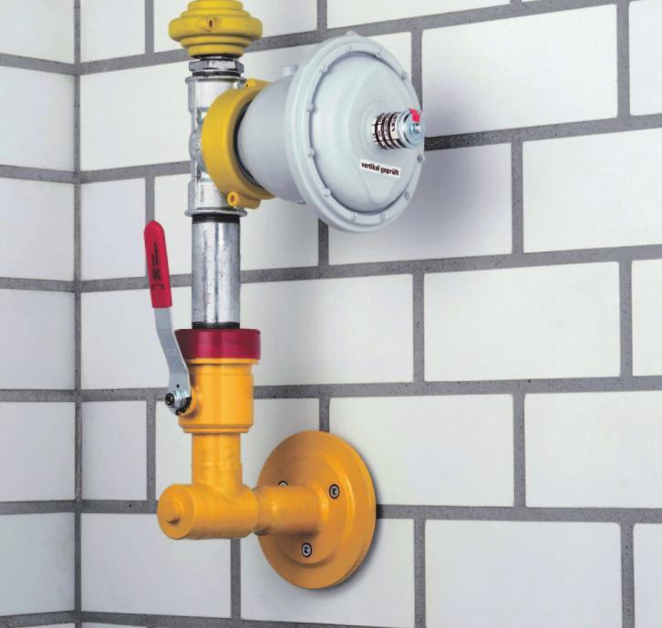 Erdgas ist eine gute Alternative in der Energieversorgung. FOTO: ZVO