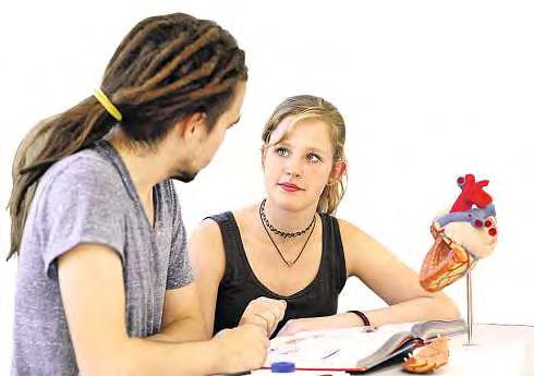 Die Ludwig Fresenius Schulen stehen für Aus- und Weiterbildungen mit Spaß und Perspektive. Die Schüler lernen, worauf es im späteren Berufen ankommt. FOTO: HFR