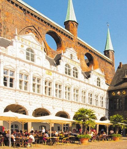 Ratskeller zu Lübeck: Feiern mit Stil. FOTO: HOLGER LOOFT