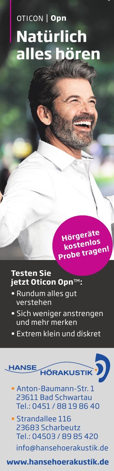 Hanse Hörgeräteakustik GmbH