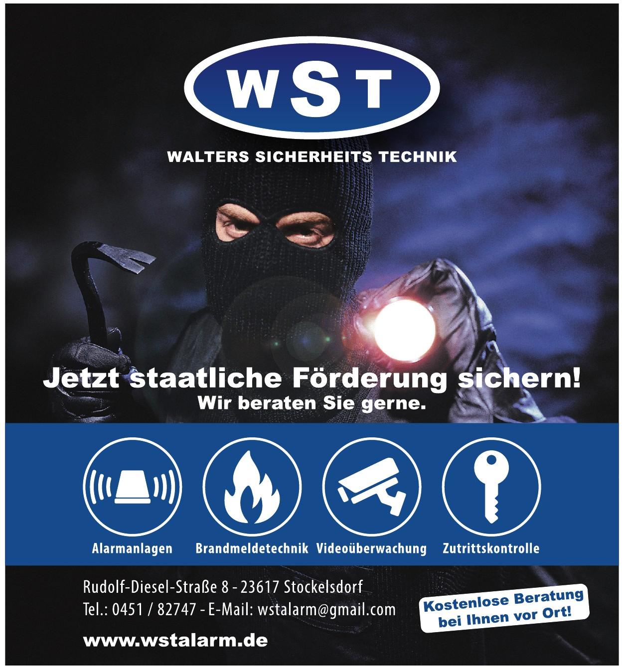 WST – Walters Sicherheits Technik