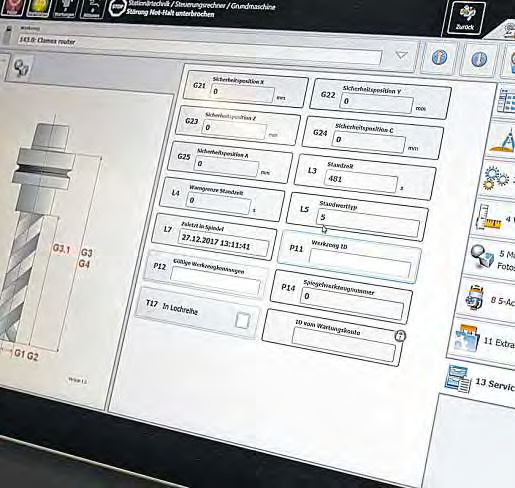 Bei Storebest erlaubt die digitale Ausstattung des Maschinenparks exaktes und schnelles Arbeiten.