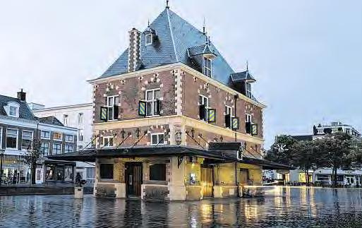Für ein Jahr ist Leeuwarden europäische Kulturhauptstadt. Die Waag ist eines ihrer Wahrzeichen. FOTO: AHAVELAAR/ADOBE