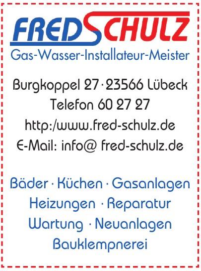 Fred Schulz Gas-Wasser-Installateur-Meister