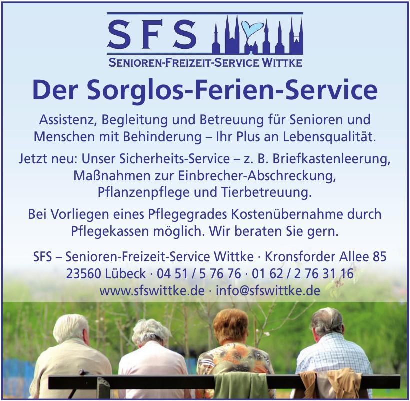 SFS – Senioren-Freizeit-Service Wittke