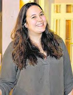 Marina Gkourtzounes durchläuft während ihrer Ausbildung jede Abteilung. FOTO: PA