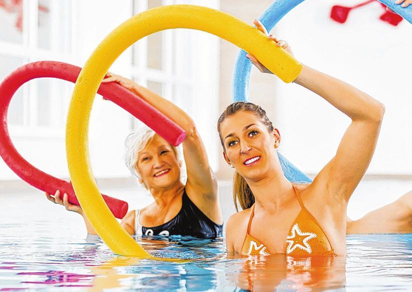 Ob Aqua-Fitness oder Sauna: In den Lübecker Schwimmbädern findet jeder das Richtige für sich.FOTO: KZENON/FOTOLIA