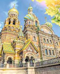 Die Auferstehungskirche in Sankt Petersburg.