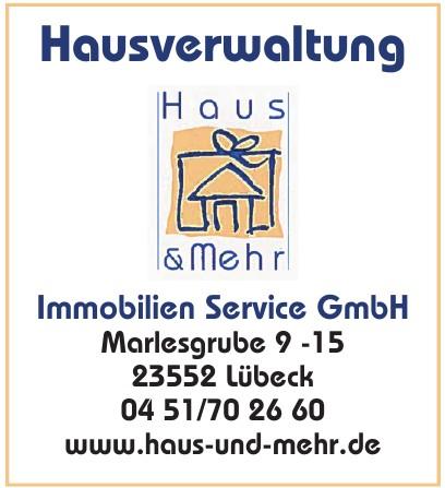 Hausverwaltung Haus & Mehr Immobilien Service GmbH