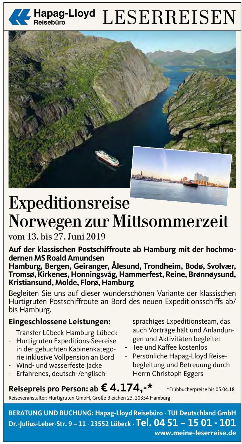 Hapag-Lloyd Reisebüro TUI Deutschland GmbH