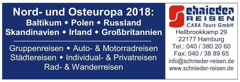 Schnieder Reisen – Cara Tours GmbH