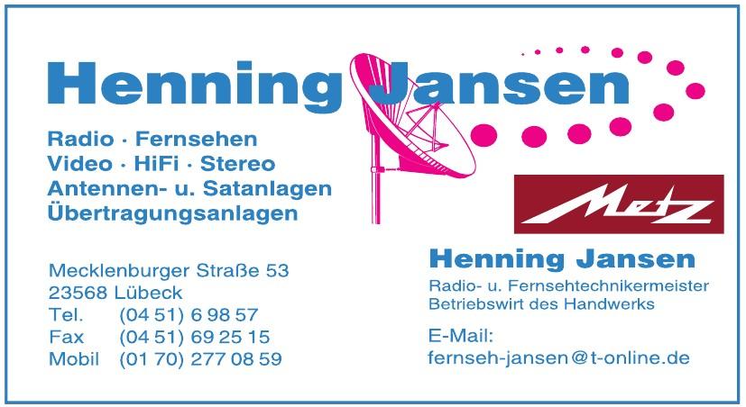 Henning Jansen