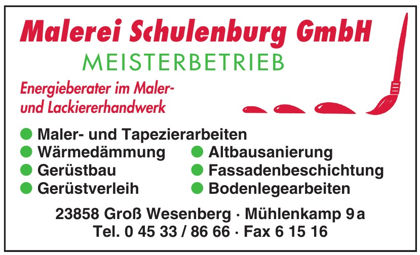 Malerei Schulenburg GmbH